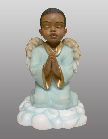 Praying Angel Boy, -- 4.25H       *