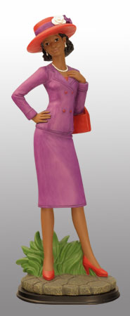 Lady in purple 2 12H