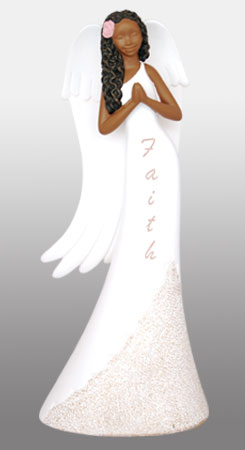 Faith Angel in white 9H