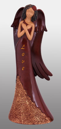 Love Angel in burgundy 9H