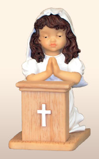 Hispanic Communion Girl, -- 4.   *