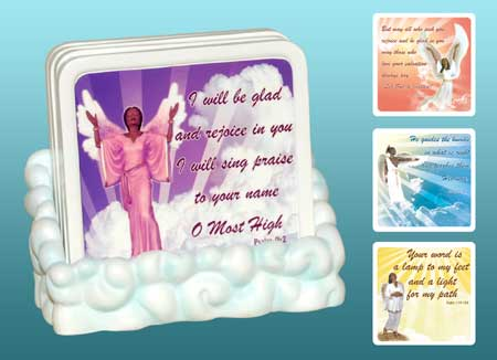 Inspirational Coasters, set of 4 3.75